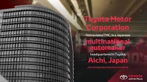 toyota corporate headquarters toyota slidegenius powerpoint design u0026 presentation experts