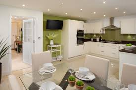 show homes interiors ideas this high gloss white kitchen is for family homes from a