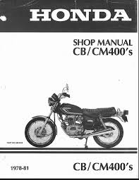 honda manual for 1978 81 cb cm400 page 8