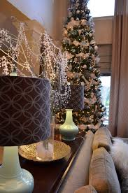 decor ography burlap bling and blue our naturally modern christmas