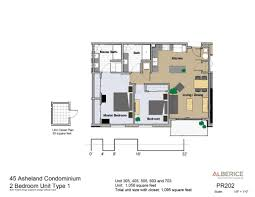 Bedroom Plans Residences Condo Floor Plans 45 Asheland Asheville Nc
