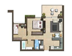 color floor planjpgwatercolor home plans rendered laferida com