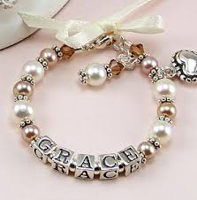 Engraveable Gifts Baby Bracelets Christening Gifts Baptism Gifts Personalized