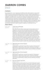 Sas Resume Sample by Client Service Manager Resume Samples Visualcv Resume Samples