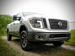 truck nissan titan first drive you won u0027t miss diesel with nissan u0027s gasoline titan