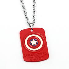 long red pendant necklace images Civil war superhero pendant necklace panther necklaces jpg