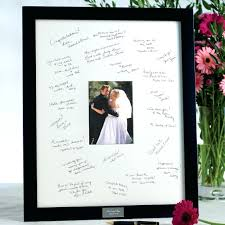 wedding autograph frame autograph wedding picture frame our story autograph wedding