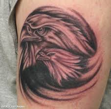 German Flag Tattoos 60 Cool Eagle Tattoos Meaning And Designs With Images