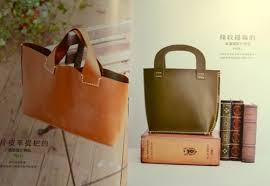 Handmade Leather Tote Bag - handmade leather tote bag japanese leather craft book in
