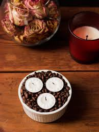 coffee bean candle make a diy scented candle using coffee beans noshon it