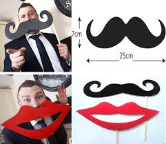 wedding photo booth props big photo props mustache and lip wedding photo booth