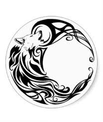 celtic wolf moon tattoos wolf moon and