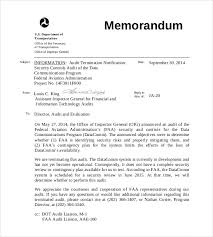 sample audit program 10 audit memo templates u2013 free sample