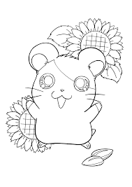 hamtaro 162 cartoons u2013 printable coloring pages