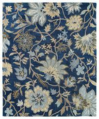 Area Rugs In Blue by Kaleen Brooklyn Brody 5304 17 Blue Rug