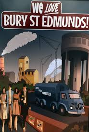 new artworks depict bury st edmunds during the early 20th century