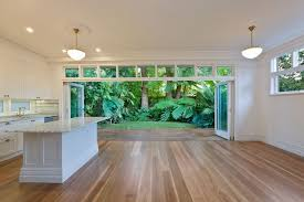 180 mm select grade spotted gum t g timber flooring finished with