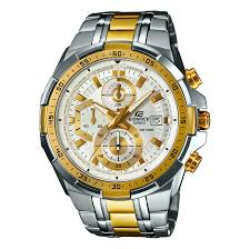 gold tone bracelet watches images Casio edifice men 39 s two tone stainless steel bracelet watch h samuel