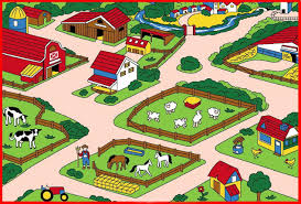 children area rugs amazon com farm children area rug 39
