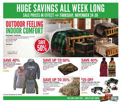 cabelas black friday sale cabela u0027s black friday flyer november 24 to 30