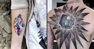 15 sparkling crystal tattoos tattoodo