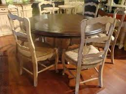 french country dining table distressed french country double