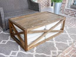diy 32 coffee table project plans modern outdoor diy black
