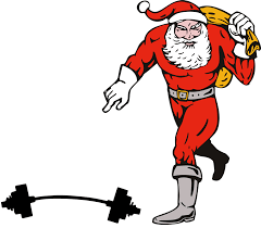 claus says merry christmas u0026 to deadlift more