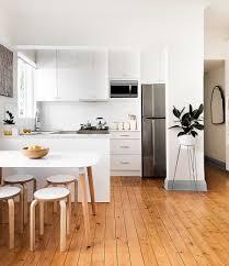 design stunning scandinavian kitchen white tiled floor minimalist