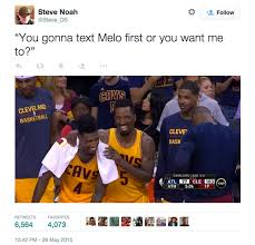 Cavs Memes - carmelo anthony memes crown the cavs trip to nba finals photos