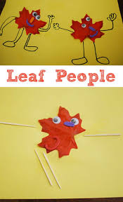 fall crafts leaf people leaves people and craft