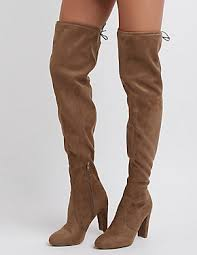 s boots knee high brown boots knee high lace up boots russe