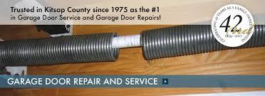 Garage Door Repir by Kitsap Garage Door Co