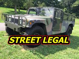 hummer h1 street legal for sale youtube