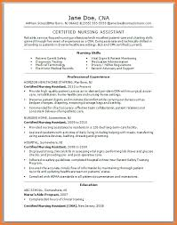 Medical Support Assistant Resume Sample by Resume Certified Nursing Assistant Resume Examples Cna Resume