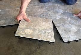 impressive vinyl plank flooring concrete basement flooring
