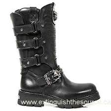 s boot newest canada rock m 373x s27 s motorcycle boot outlet color black