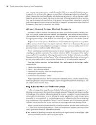 how to write a problem statement for research paper chapter 6 applying market research to airport ground access page 138