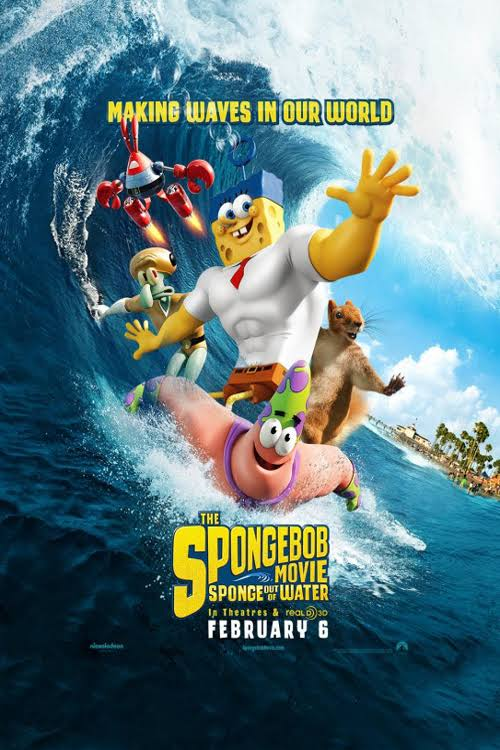 Image result for The SpongeBob Movie: Sponge Out of Water