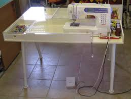 Sewing Machine With Table Sewing Machine Tables Ikea Ve Got A New Custom Made Table For