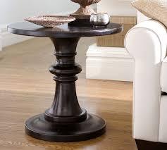 decorating your house decorating your house with pedestal side table home furniture
