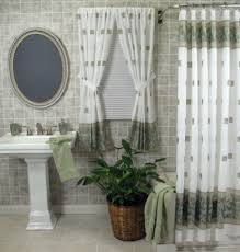 Matching Bathroom Window And Shower Curtains Matching Bath Shower And Window Curtains Shower Curtains Ideas