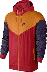nike windbreaker windbreaker red orange purple