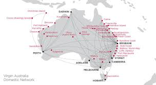 Southwest Route Map The Singapore Airlines Visit Australia Airpass Domestic Flights