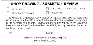 engineer architect and general contractor shop drawing and