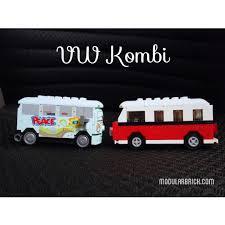lego volkswagen mini vw lego kombi cars 2 flo 8487 creator 40079 3 modular brick