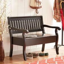 Hallway Storage Bench 2 Seat Entryway Storage Bench 2 Seater Wood Sofa Hallway Furniture