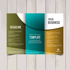 tri fold brochure template vector free download with regard to