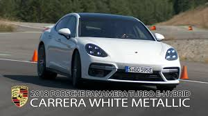 porsche panamera silver 2018 2018 porsche panamera turbo s e hybrid youtube