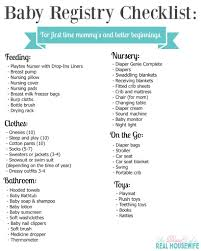 baby registery baby registry checklist for a better beginning free printable